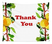 Thank You Card   Tapestry