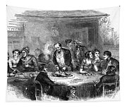 Thanksgiving Dinner, 1850 Tapestry