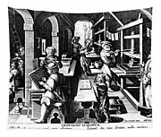 The Printing Of Books Tapestry