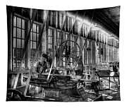 The Red Barn Of The Boeing Company Iv Tapestry