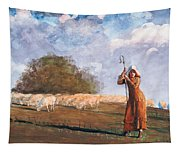 The Young Shepherdess Tapestry