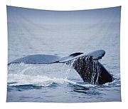 Whales Fluke Tapestry