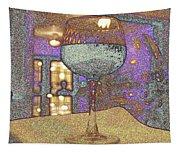 Wine Glass Tapestry