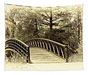 Wooden Bridge Tapestry