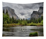 Yosemite's Valley View  Tapestry