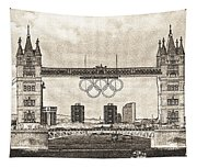 Tower Bridge Art Tapestry