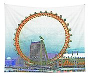 London Eye Art Tapestry