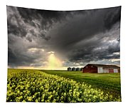 Storm Clouds Saskatchewan Tapestry