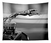 1925 Lincoln Town Car Hood Ornament Tapestry