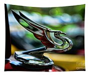1934 Chevrolet Flying Eagle Hood Ornament - 2 Tapestry