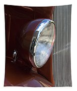 1934 Ford Headlight And Grill Tapestry