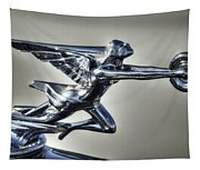 1934 Packard Super Eight Hood Ornament  Tapestry