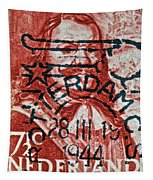 1944 Netherlands De Ruyter Stamp - Rotterdam Cancelled Tapestry