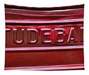 1947 Studebaker Tail Gate Cherry Red Tapestry