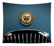 1952 Jaguar Hood Ornament Tapestry