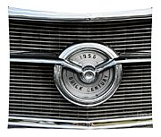 1956 Buick Century Grill Emblem Tapestry