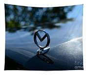 1958 Mercury Park Lane Hood Ornament Tapestry