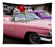 1959 Cadillac Convertible And The 1950 Mercury Tapestry