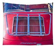 1963 Red Porsche 356b Super 90 Back End Tapestry