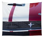 1966 Red Ford Mustang Shelby Gt350 Front Tapestry