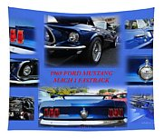 1969 Ford Mustang Mach 1 Fastback Tapestry
