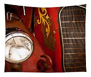 1941 Hahn Open Cab Fire Engine Tapestry