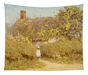 A Surrey Cottage Tapestry