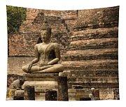 Buddha At Sukhothai Tapestry