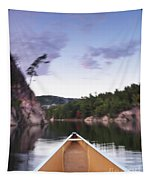 Canoeing In Ontario Provincial Park Tapestry