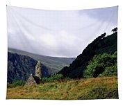 Chapel Of Saint Kevin At Glendalough Tapestry