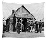 Civil War: Union Officers Tapestry