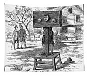 Colonial Pillory - To License For Professional Use Visit Granger.com Tapestry