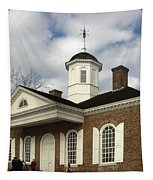 Colonial Williamsburg Courthouse Tapestry