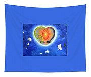 God Lives In My Heart Tapestry