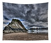 Goscar Rock Tenby Tapestry