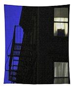Manhattan After Dark Tapestry