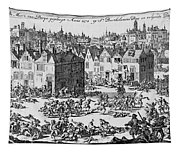 Massacre Of Huguenots Tapestry