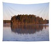 Morning Mist At Haukkajarvi Tapestry