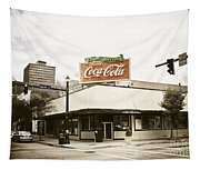 On The Corner Tapestry