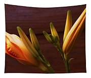 Orange Daylily Tapestry
