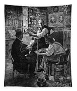 Presidential Campaign, 1884 Tapestry