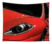 Red Ferrari F430 Scuderia Tapestry