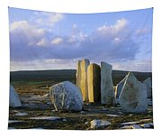 Standing Stones, Blacksod Point, Co Tapestry