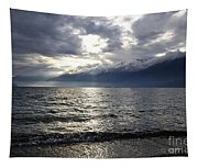 Sunlight Over A Lake Tapestry