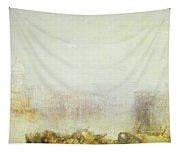 The Dogana And Santa Maria Della Salute Venice Tapestry