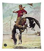 W.f. Cody Poster, C1885 Tapestry