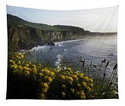 Wildflowers At The Coast, County Tapestry