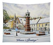 Winter In Twyn Square Tapestry