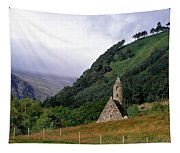 Chapel Of Saint Kevin At Glendalough Tapestry