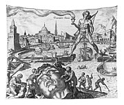 Colossus Of Rhodes Tapestry